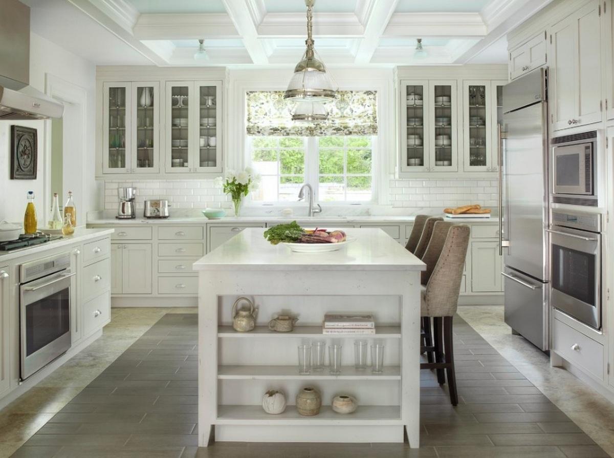 кухня столовая в частном доме