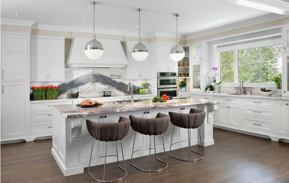 кухня в частном доме дизайн фото