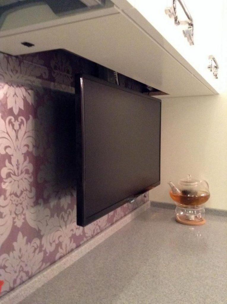 маленький телевизор на кухню поворотный