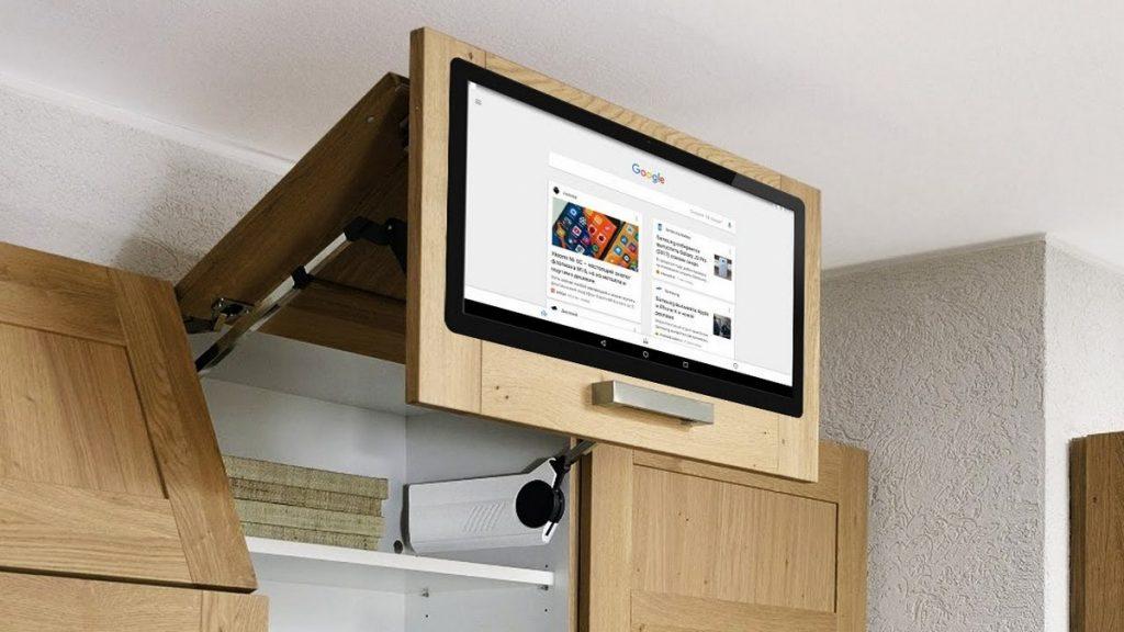 небольшой телевизор на кухню фото
