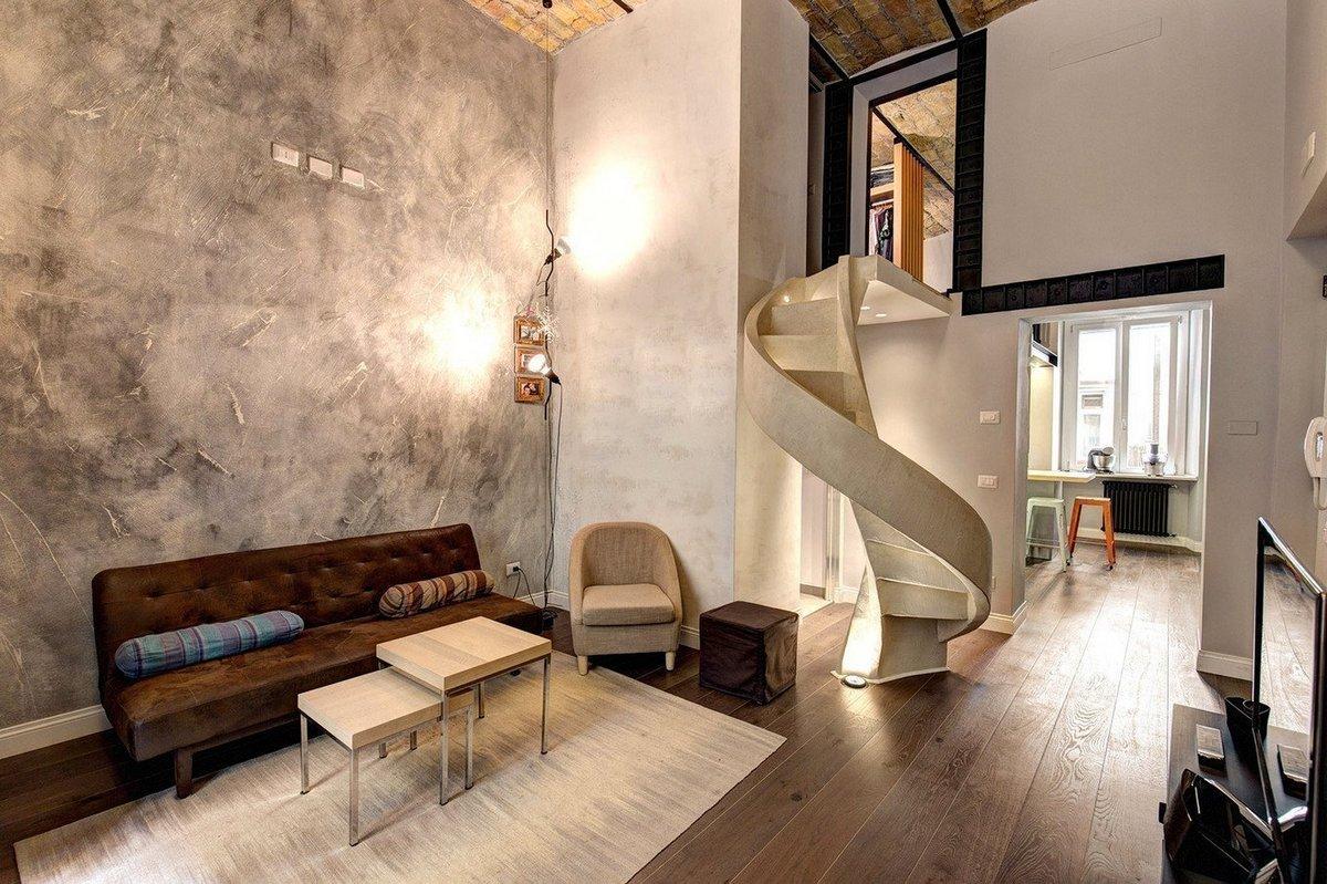 планировка двухуровневой квартиры дизайн проект