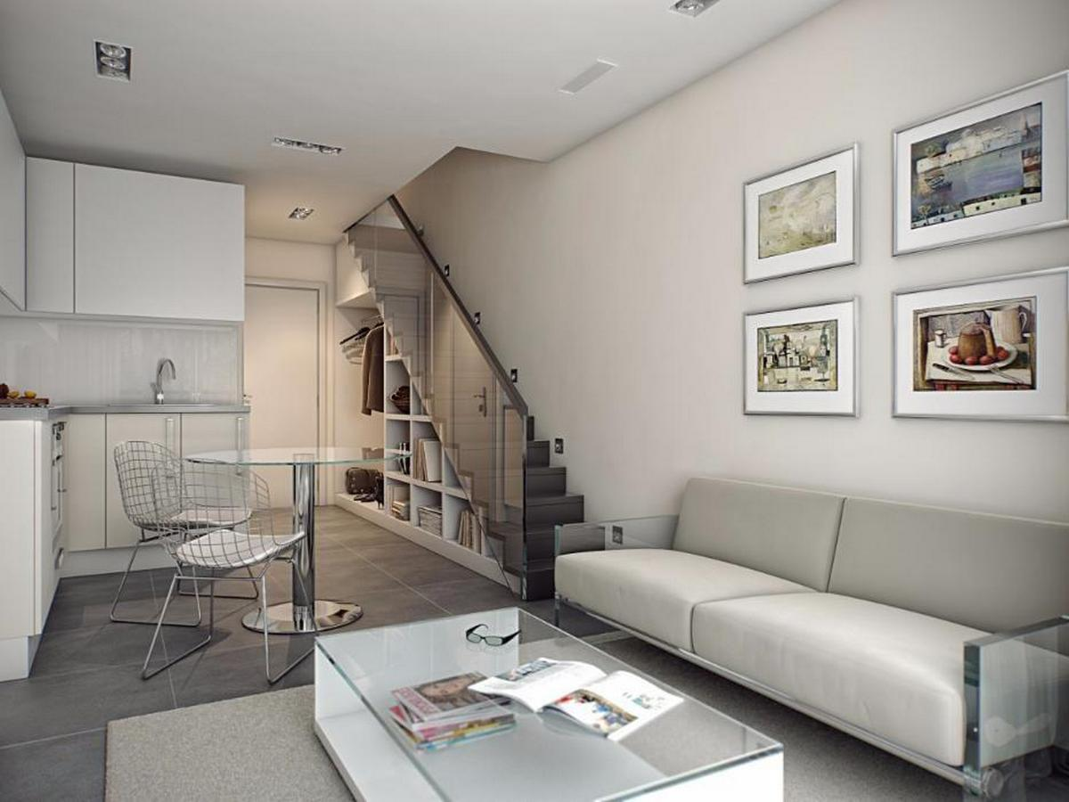 планировка двухуровневой квартиры дизайн