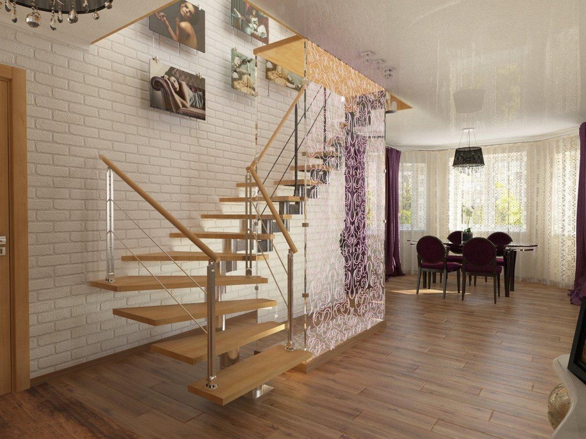 планировка двухуровневой квартиры лестница