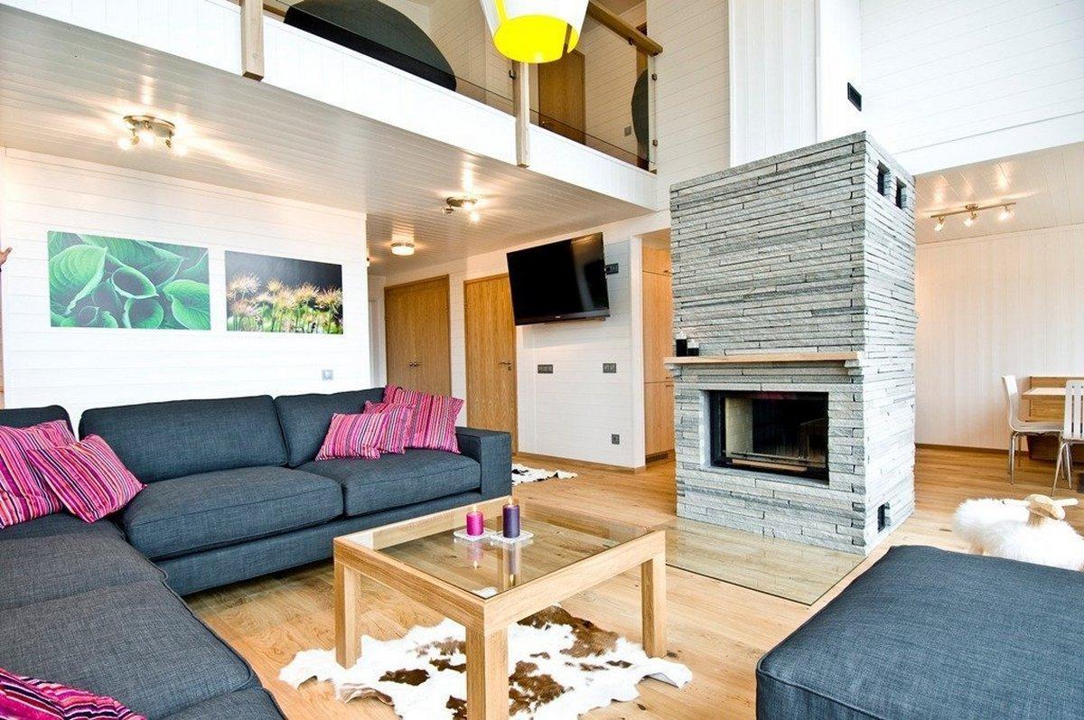 планировка двухуровневой квартиры яркие акценты