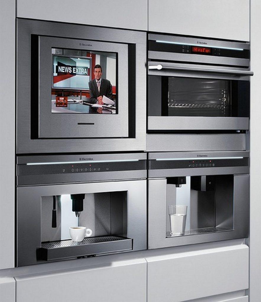 телевизор на кухню встроенный