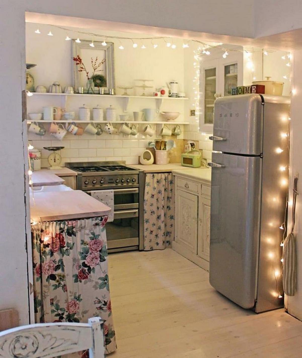 зонирование кухни в частном доме