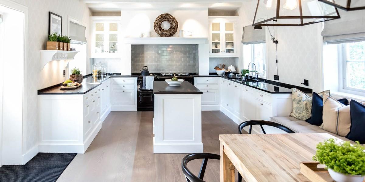 п-образная кухня в классическом стиле
