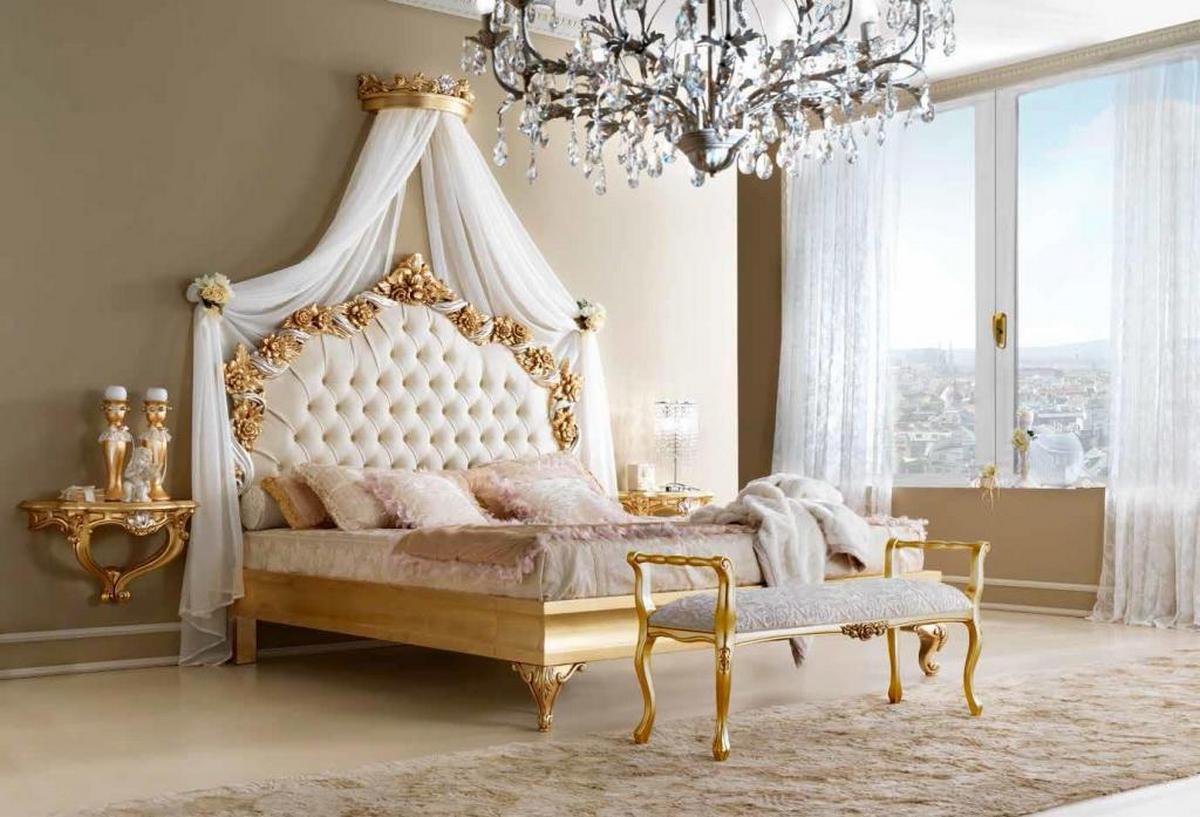 белые спальни в классическом стиле фото
