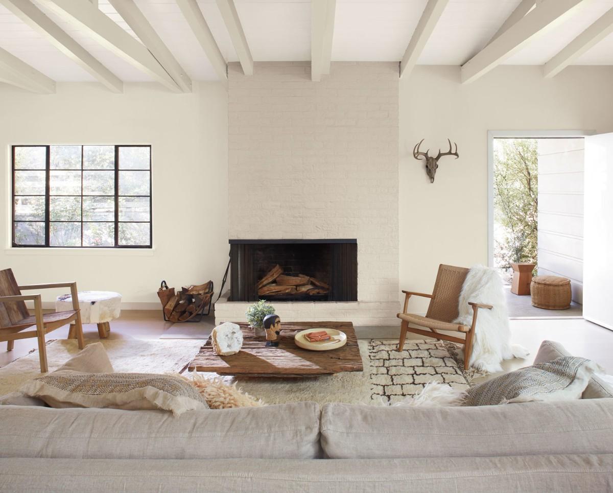 дом в скандинавском стиле дизайн гостиной
