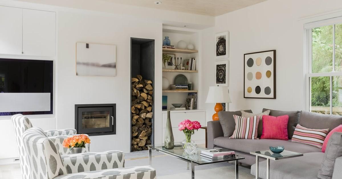 дом в скандинавском стиле дизайн с камином