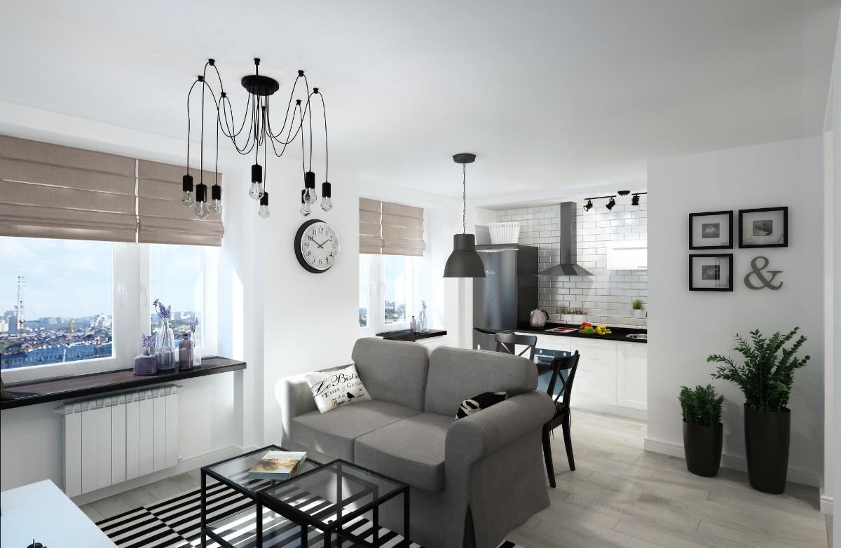 дом в скандинавском стиле дизайн студии