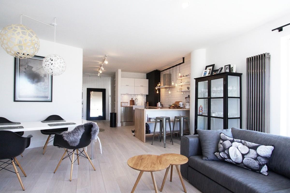 дом в скандинавском стиле дизайн свободной планировки