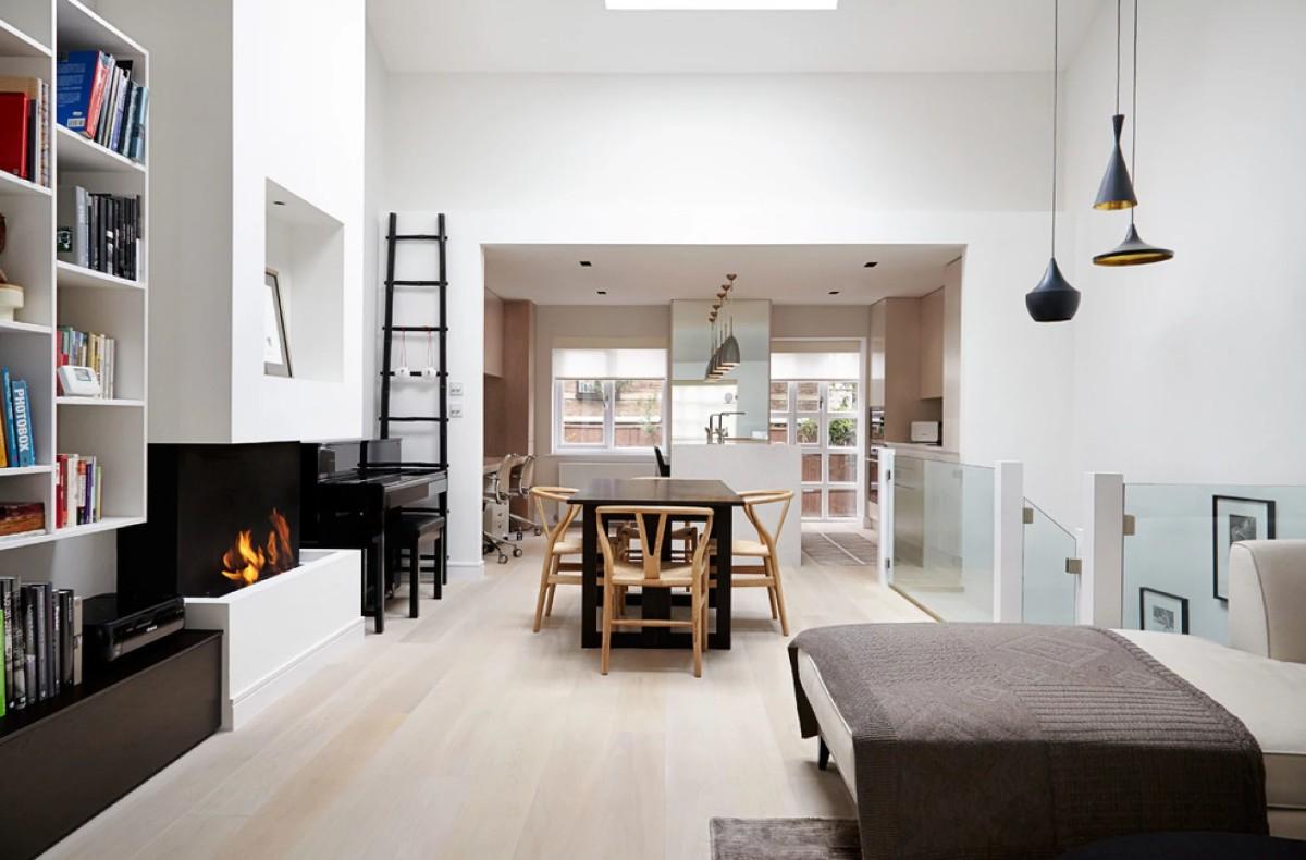 дом в скандинавском стиле эффектный дизайн