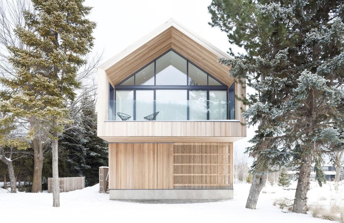 дом в скандинавском стиле экстерьер