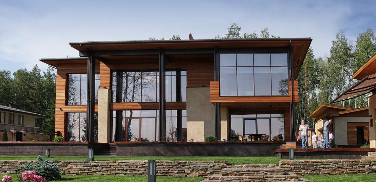 дом в скандинавском стиле фото фасада