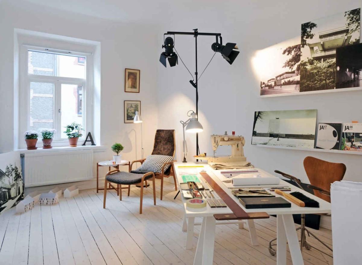 дом в скандинавском стиле фото интерьера