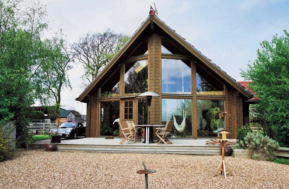 дом в скандинавском стиле фото