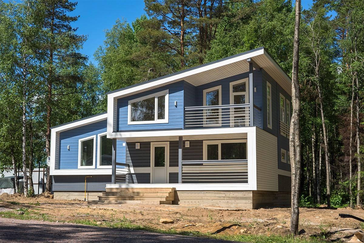 дома в скандинавском стиле фото