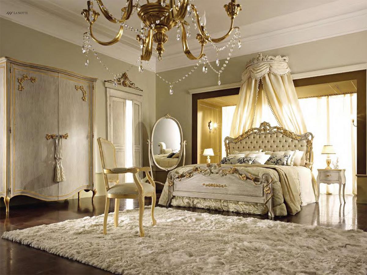 итальянские спальни в классическом стиле