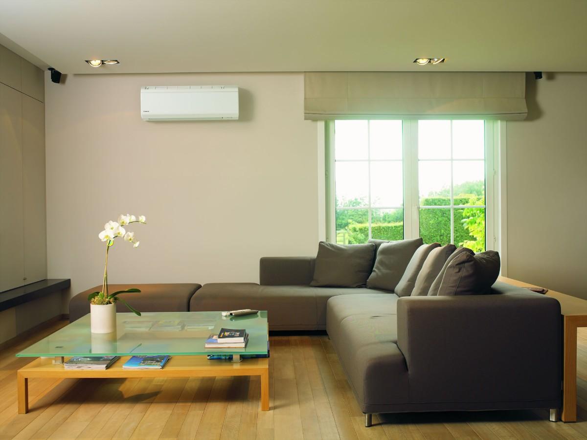 какой выбрать кондиционер лаконичный дизайн небольшой гостиной в квартире