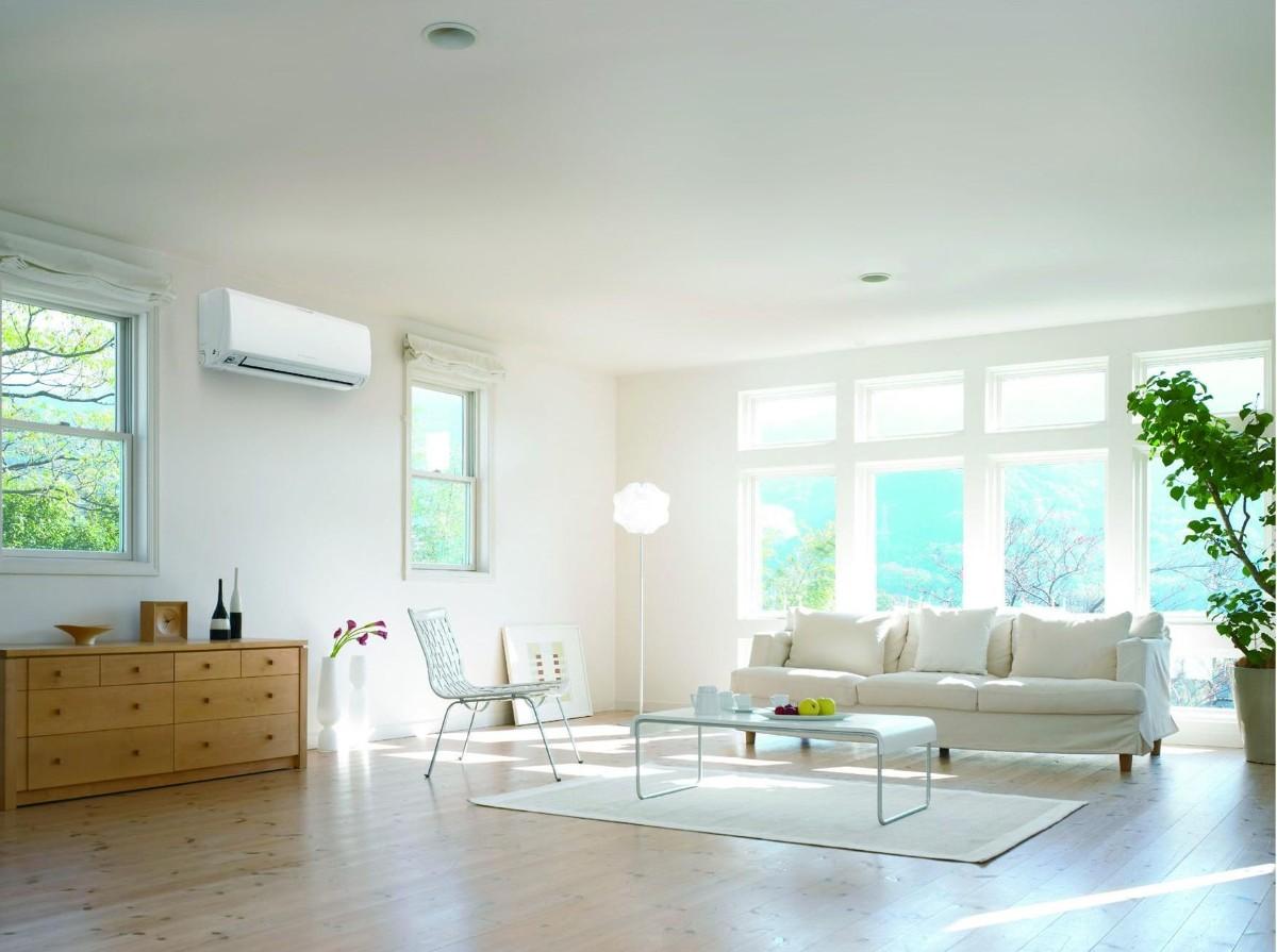 какой выбрать кондиционер в большую квартиру светлый дизайн