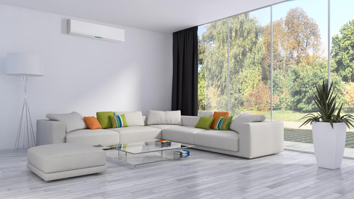 какой выбрать кондиционер в современную квартиру с панорамными окнами