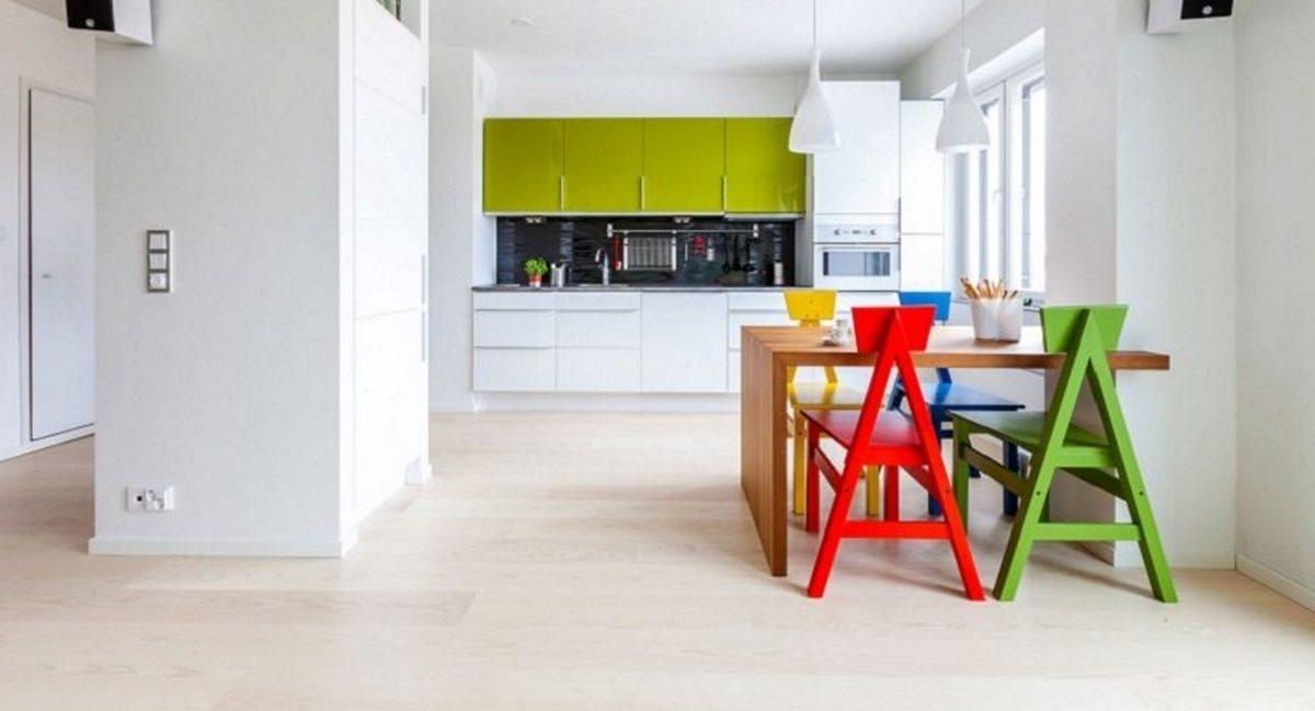 ламинат в интерьере квартиры фото