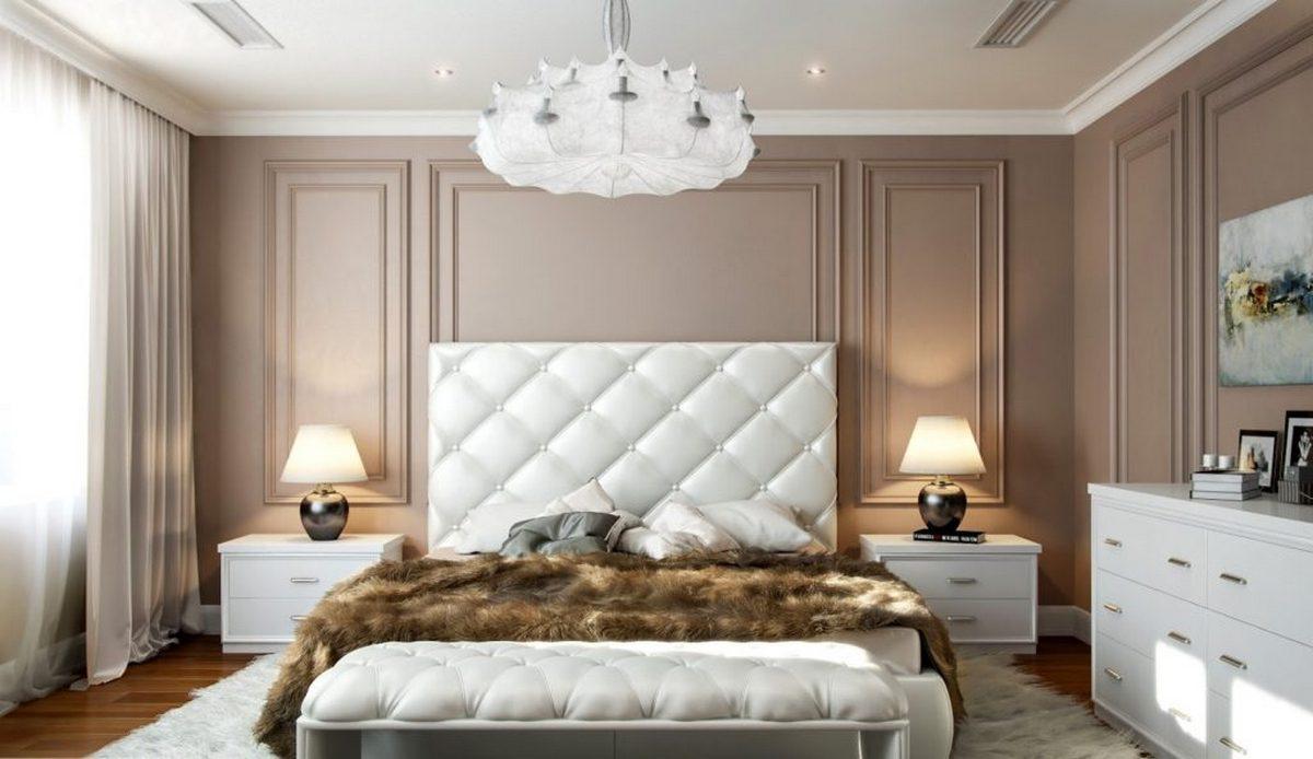 люстра современная классика дизайн спальня
