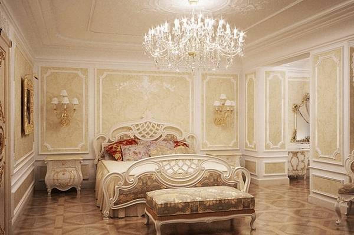 люстры в спальню в классическом стиле