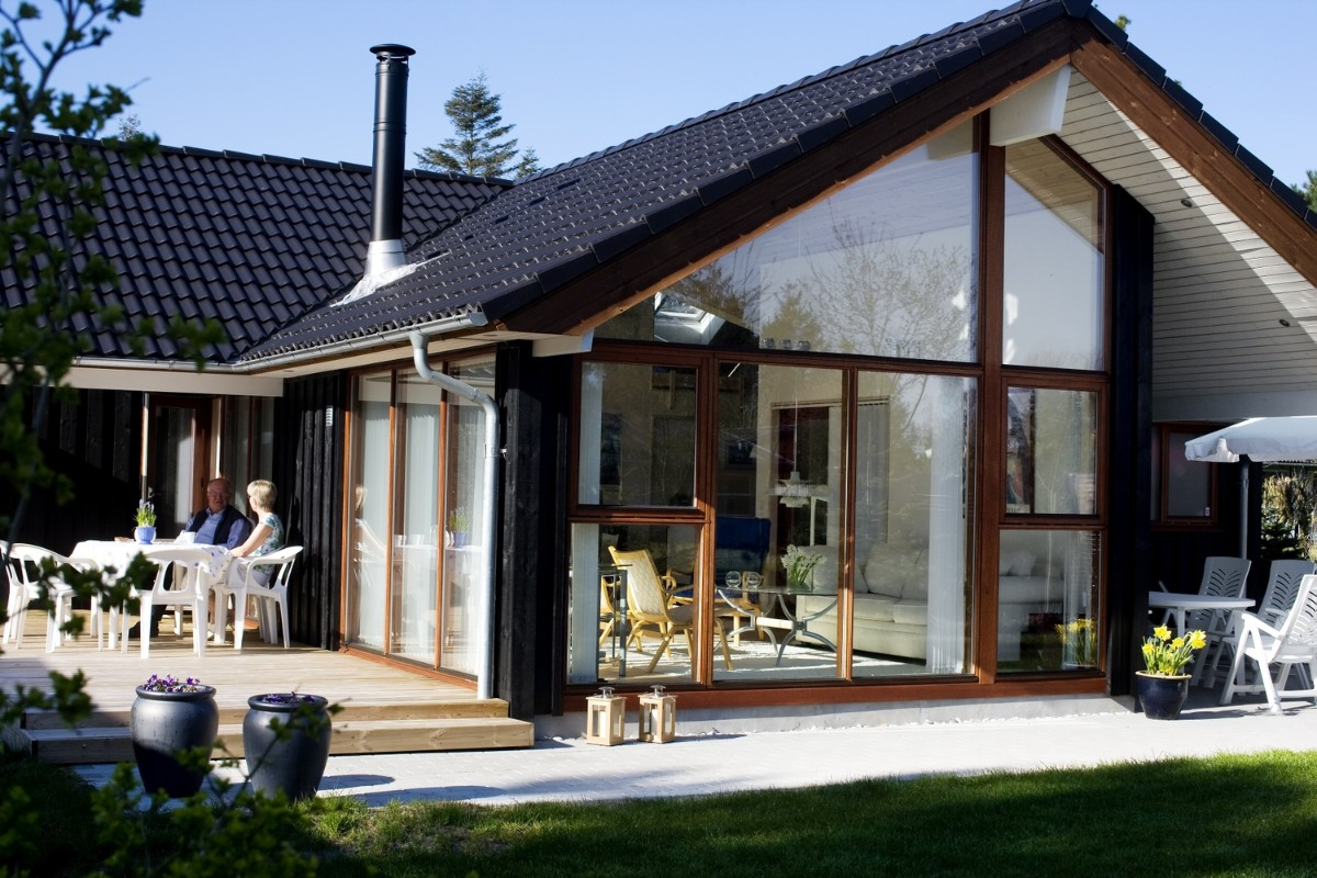 одноэтажный дом в скандинавском стиле фото