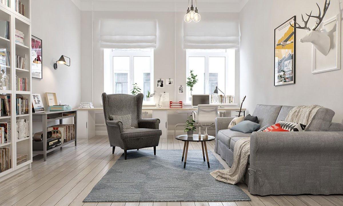 скандинавский стиль дома внутри фото
