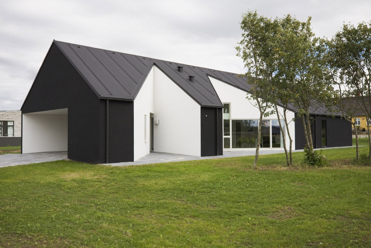 скандинавский стиль в деревянном доме фото