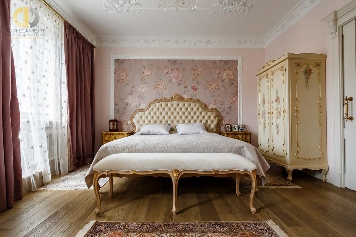 спальня в классическом стиле на фото