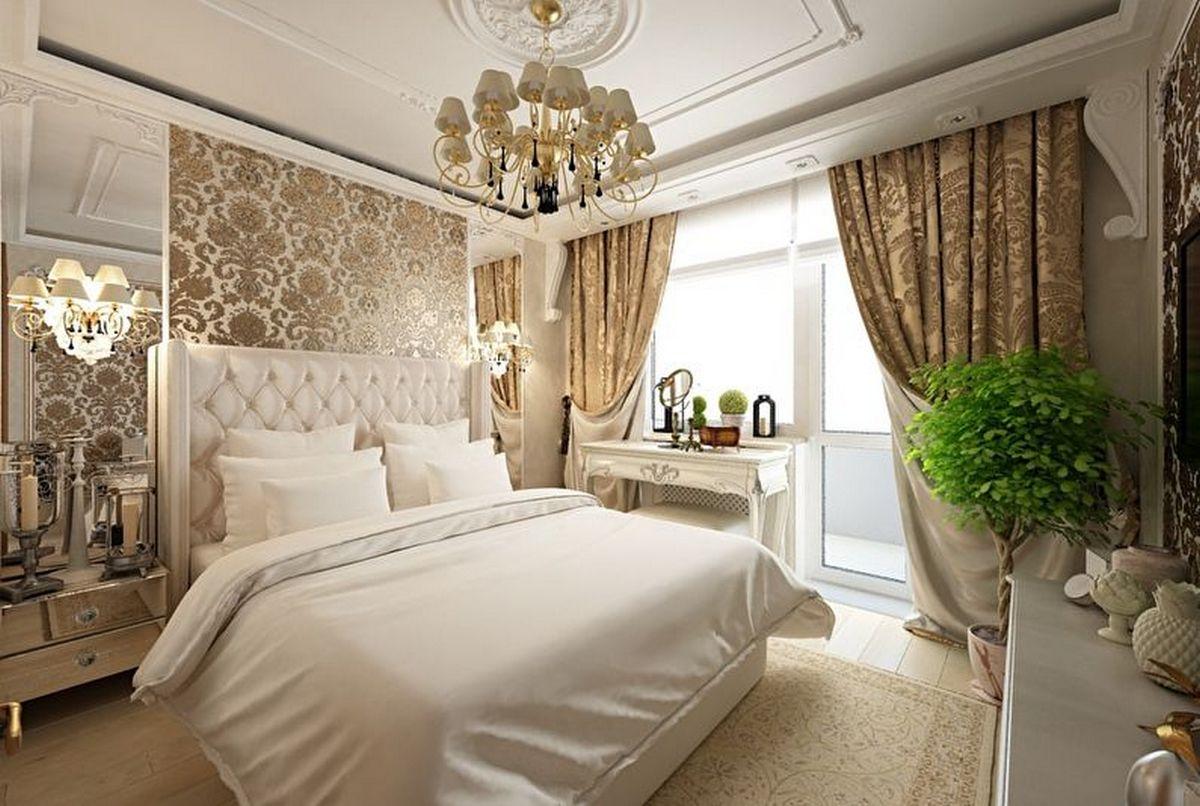 спальня в классическом стиле подходящее фото