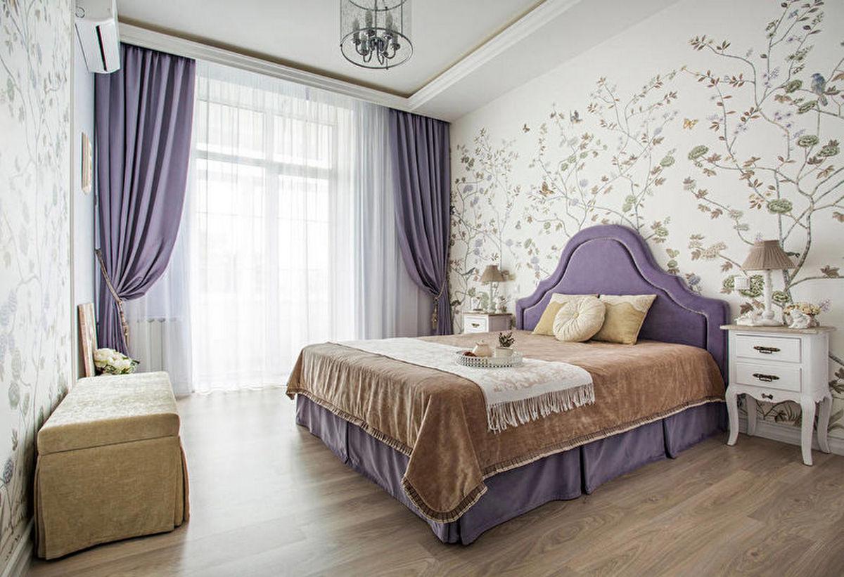 спальня в классическом стиле шикарные фото