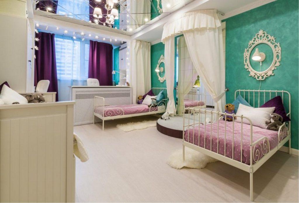 детская комната с балконом дизайн фото примеры