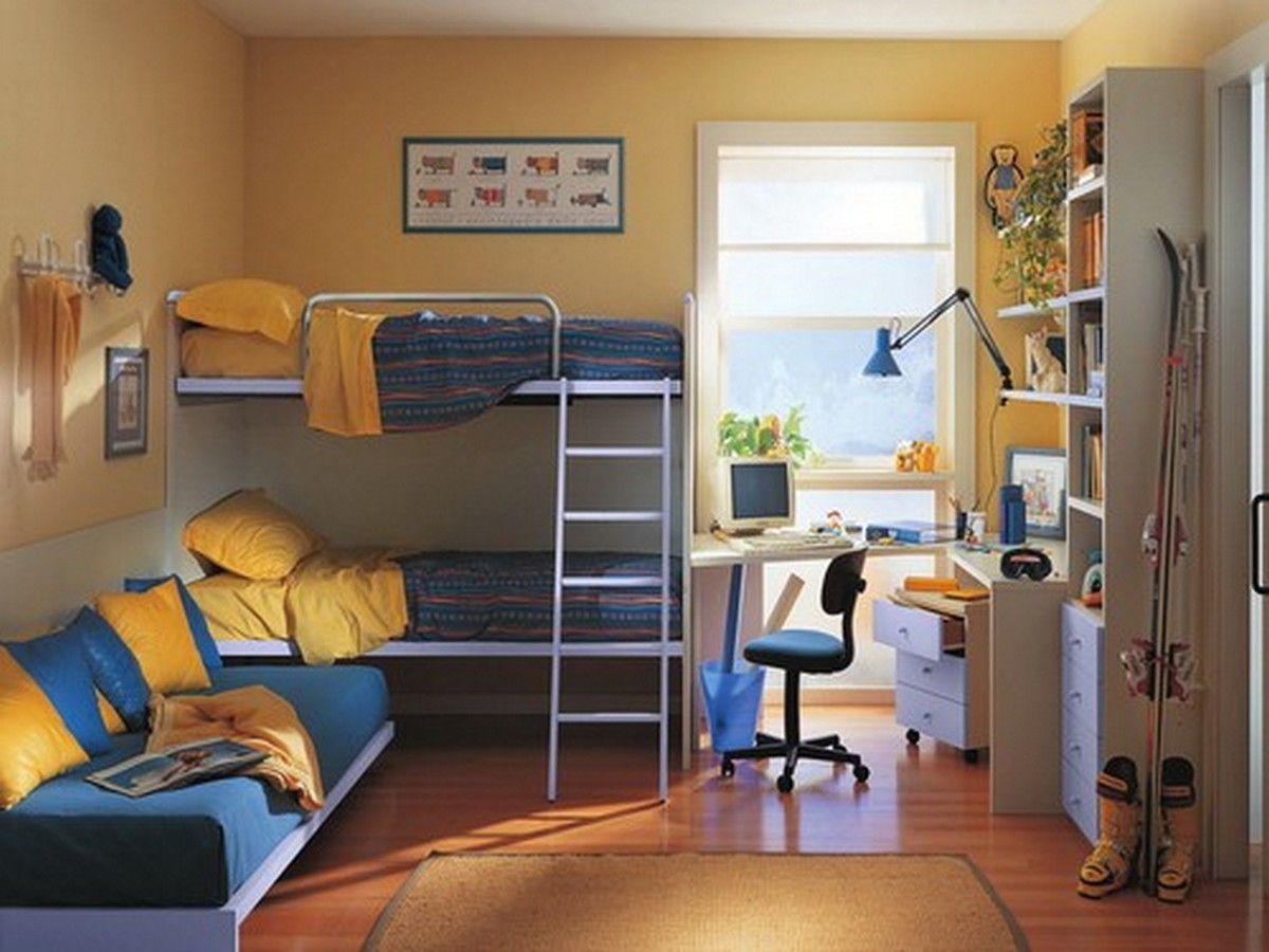 детская комната с балконом дизайн фото
