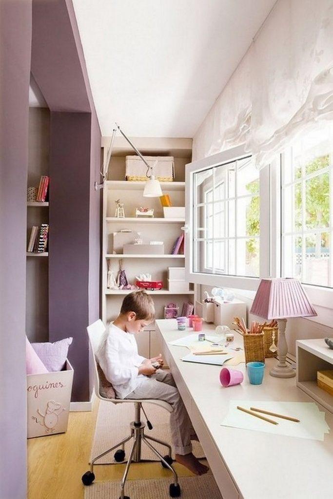 дизайн детской комнаты с балконом 11 м