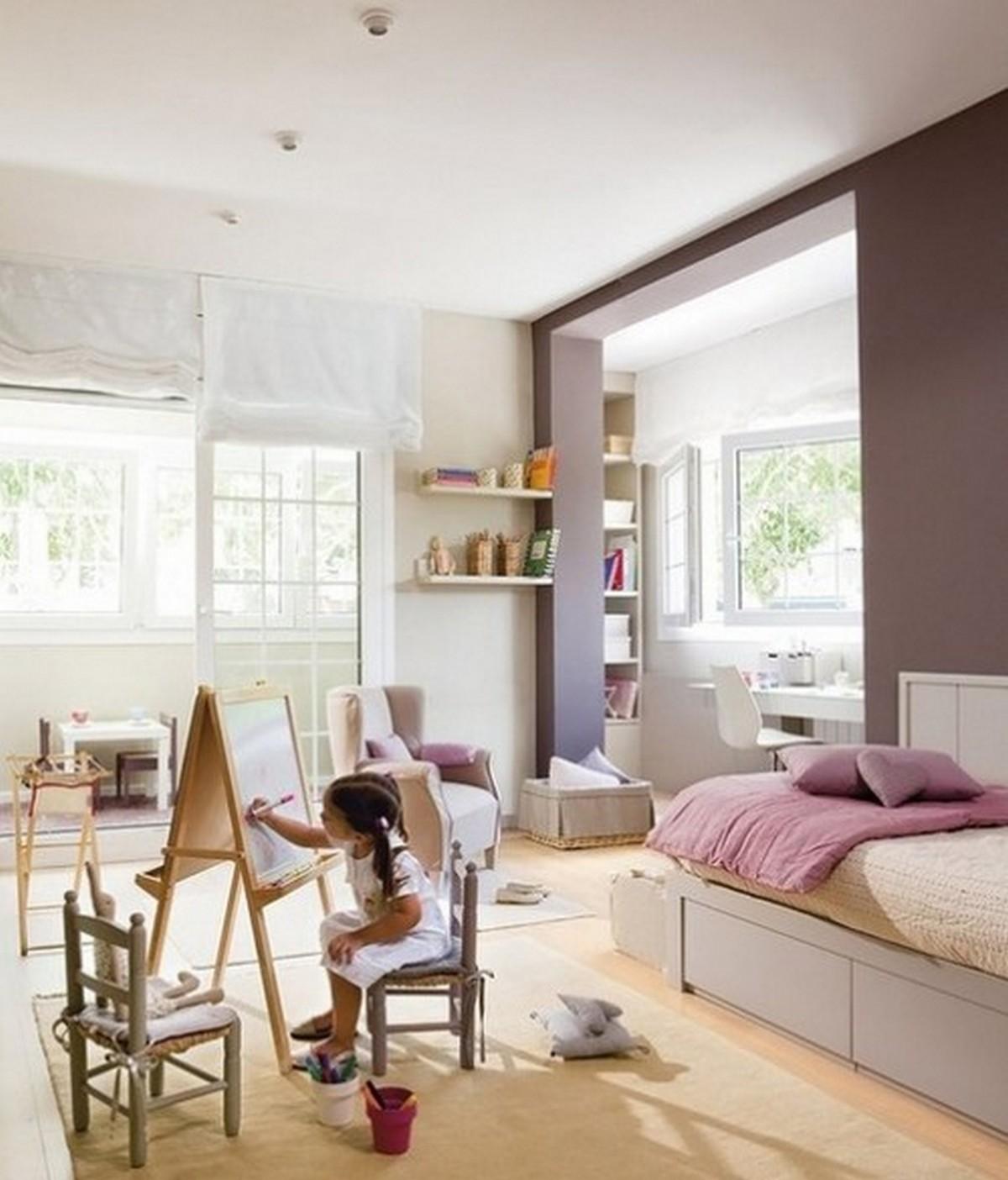 дизайн комнаты 12 м с балконом фото