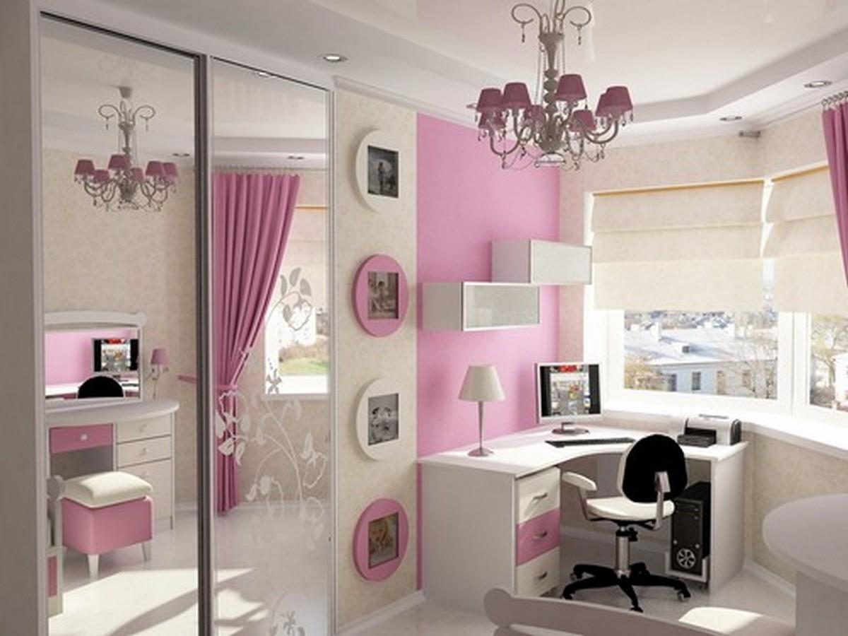 дизайн комнаты 12 м с балконом