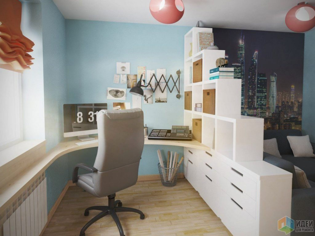 дизайн комнаты подростка с балконом