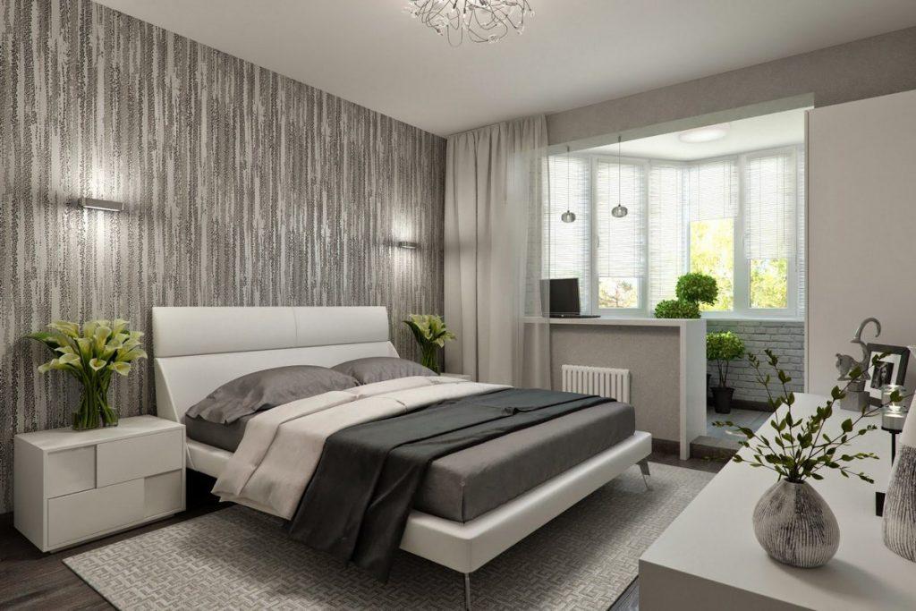 дизайн комнаты с балконом в хрущёвке