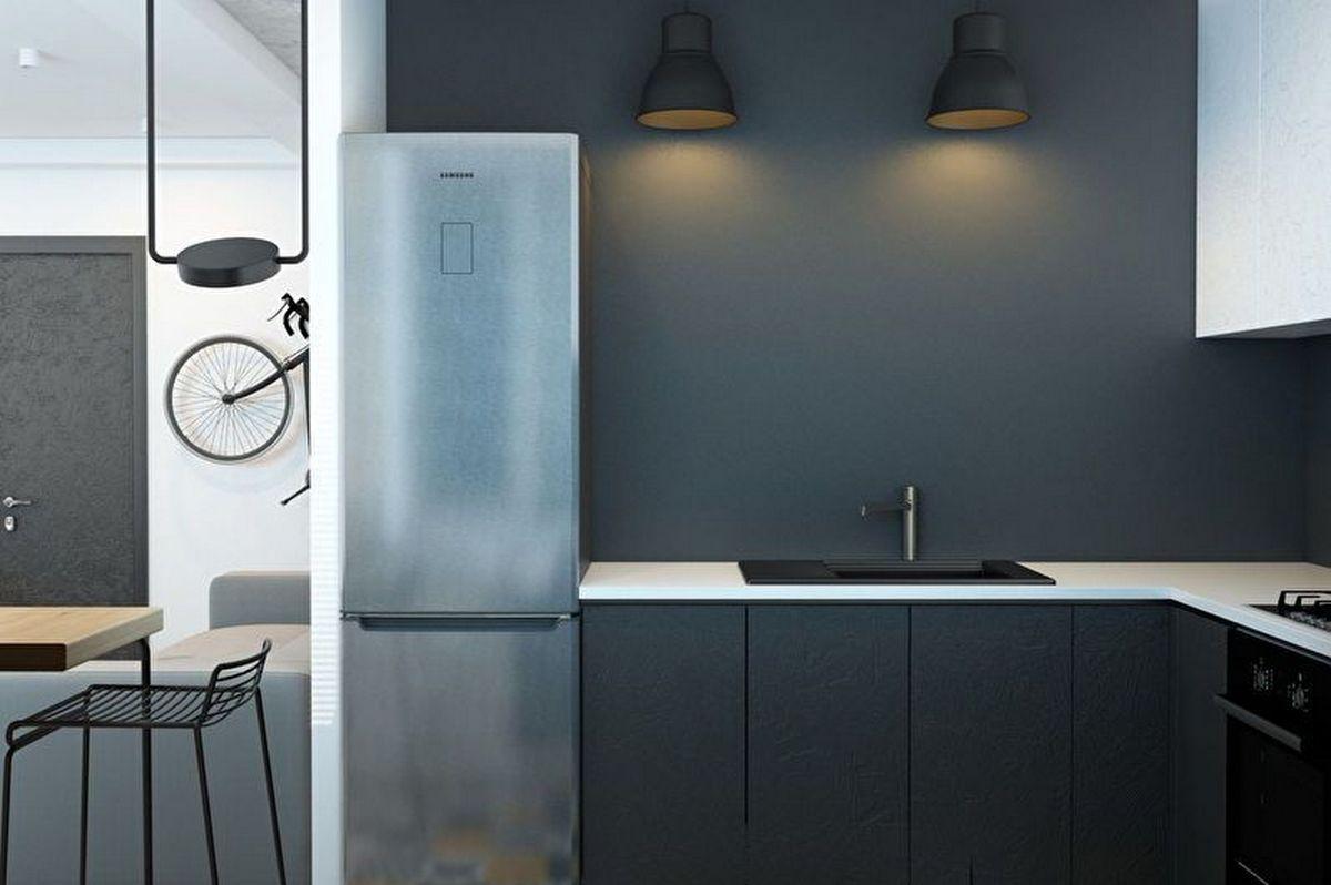 дизайн кухни в хрущёвке 6 кв м фото