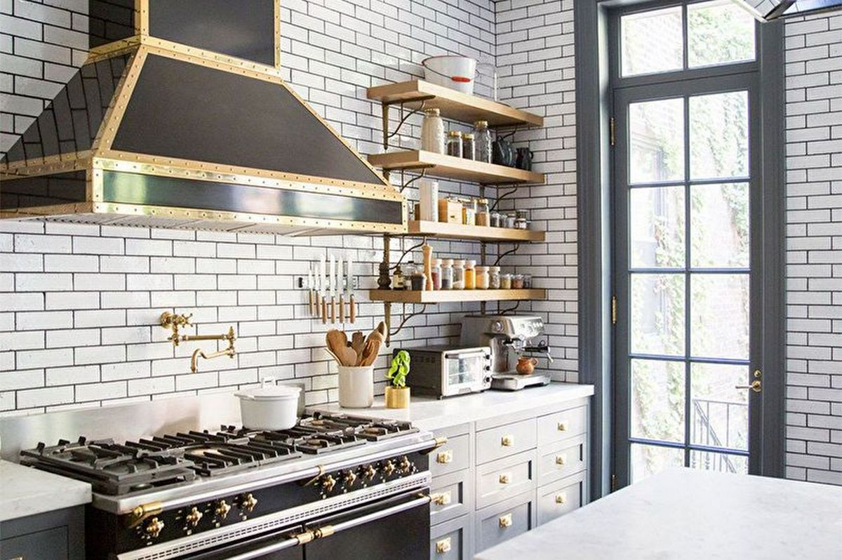 дизайн кухни в хрущёвке 6 кв м сканди стиль