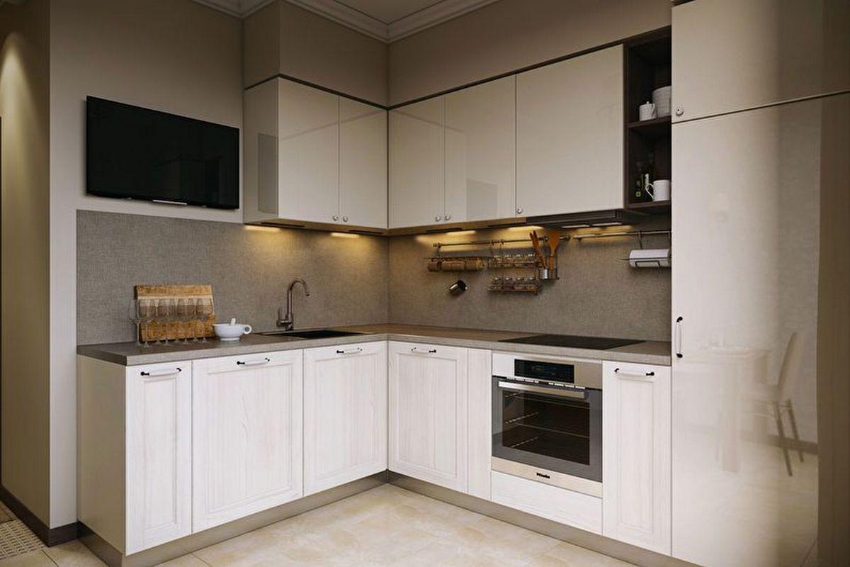 дизайн маленькой кухни 6 кв м на фото