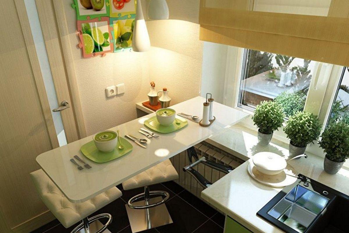 дизайн малогабаритной кухни 6 кв м фото