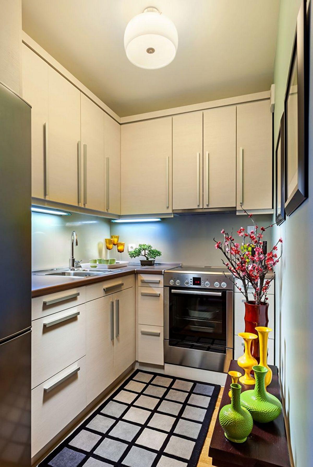 дизайн современной кухни 6 кв м на фото
