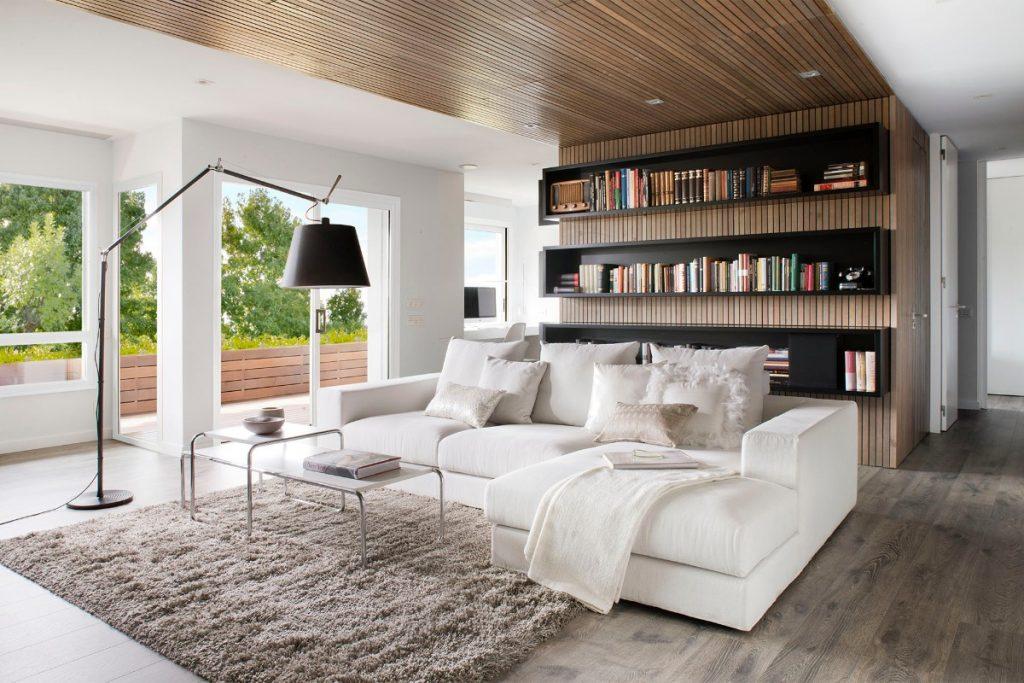 как выбрать линолеум в квартиру дизайн гостиной с окнами в пол