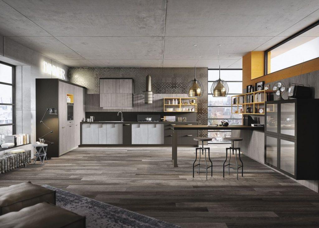 как выбрать линолеум в квартиру дизайн кухни студии
