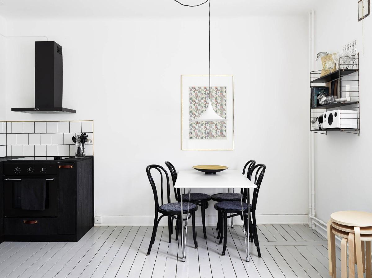 как выбрать линолеум в квартиру на кухню в скандинавском стиле